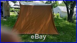 Vintage Classic Coleman Canvas Tent 10' X 8' Model 8481b830