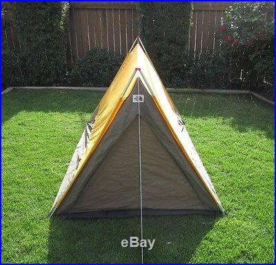 Vintage camping tents for A frame canvas tents for sale