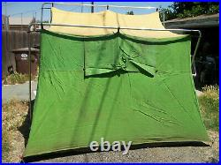 Vintage Wenzel Heavy Duty Canvas Camping Tent
