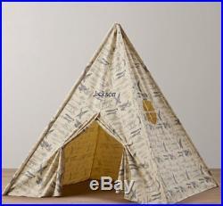 Vintage canvas tent