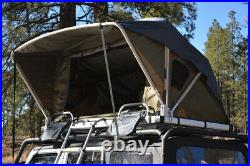 Voyager Pop Up Roof Top Camping Tent with Ladder for Wrangler Minivan SUV Truck