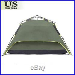 Waterproof 3-4 People Automatic Instant Pop Up Family Tent Camping Hiking Tent