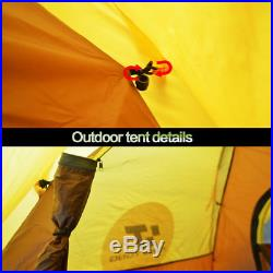 Waterproof 4-5 People Automatic Instant Pop Up Tent Camping Hiking Tent 4 Season