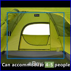 Waterproof 4-5 Person Automatic Instant Pop Up Hiking Tent Family Camping Tent