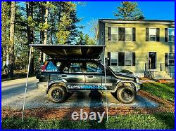 Waterproof Car Side Awning Hardtop Rooftop Pull Out Tent Sunroof Shelter 6'6