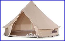 Waterproof Cotton Canvas Camping Bell Tent Sunshade Front Awning Roof Tarp
