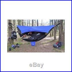 Waterproof Hammock Tent Camping Rain Shelter Outdoor Bug Net Survival Screen New