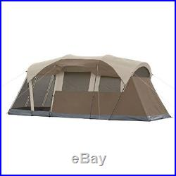 WeatherMaster 6-Person Screened Tent Outdoors 2 Room Camping Shelter NEW Coleman