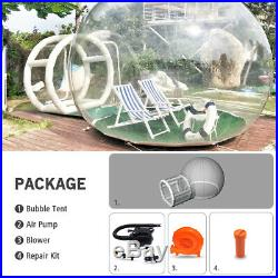 Wehaves Inflatable Luxury Domen Bubble Transparent Tent with Air Pump Outdoor
