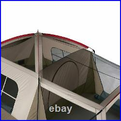 Wenzel 16 x 11 Klondike 8 Person Screen Room Camping Tent, Brown (Open Box)
