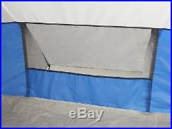 Wenzel 36424B Camping Outdoor Weather Repellent, 8 Person Klondike Tent Blue New