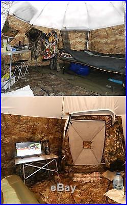 Winter Tent with Stove. 4 Season Outfitter Hunting Expedition Arctic Camping