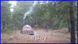 Winter Tent with Stove. 4 Season Outfitter Hunting Expedition Arctic Hiking Camp