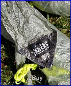 ZPacks tarp 10'2 L X 7'4 with hammock snakes
