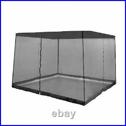 Z-Shade 13 Foot x 13 Foot Instant Outdoor Screenroom (Attachment Only), Black