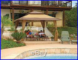 Z-Shade Gazebo 13' X 13' Outdoor Camping Cookout Party Tent Shade Sturdy