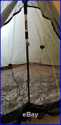 Zpacks Plexamid Ultralight Tent Dyneema Composite Fabric DCF Olive Drab